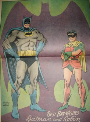 If the poster is missing from your copy of Batman 181, then its value is less than half that of a complete copy