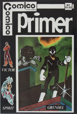 Primer #2 (1982): First appearance, Grendel. Click for values