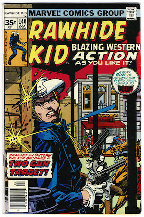 RARE! Rawhide Kid #140 35 Cent Price Variant