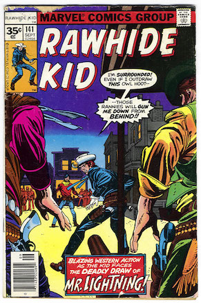 RARE! Rawhide Kid #141 Marvel 35 Cent Price Variants