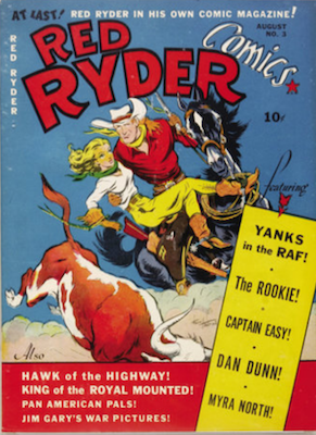Red Ryder Comics #3 (1941). Dell. Click for values