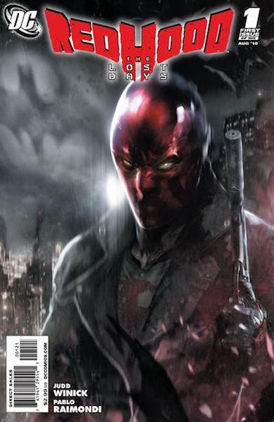 #55: Red Hood: Lost Days 1 Mattina Variant (2010). Click for values