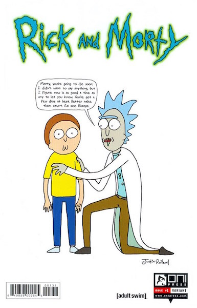 #46: Rick and Morty 1 Roiland Variant (2015). Click for values