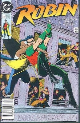 Origin and First Appearance, King Snake, Robin #2, DC Comics, 1991. Click for value