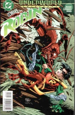 Origin and First Appearance, Lock-Up, Robin #24, DC Comics, 1996. Click for value