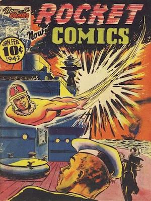 Canadian Whites: Maple Leaf Publications Rocket Comics v1 #2