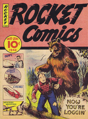 Maple Leaf Publications Rocket Comics v1 #4
