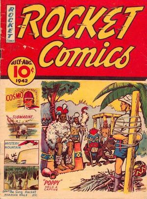 Rocket Comics v1 #5