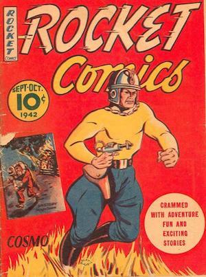 Rocket Comics v1 #6