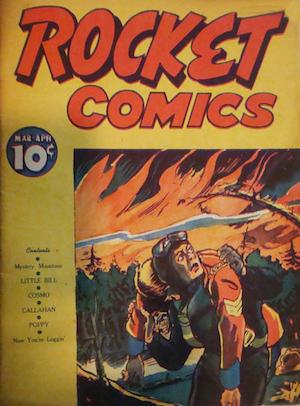 Rocket Comics v2 #1