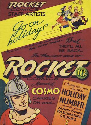 Rocket Comics v2 #10