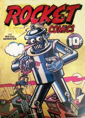 Rocket Comics v2 #2