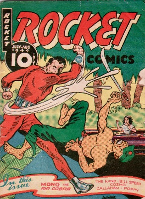 The super-rare 'Canadian white' Rocket Comics volume 2 #9. Just acquired by Sell My Comic Books