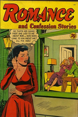 Romance Confession Stories #1: First issue of the series