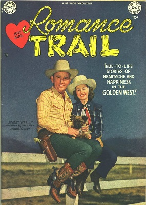 Romance Trail #1: First issue of the series. Click for value