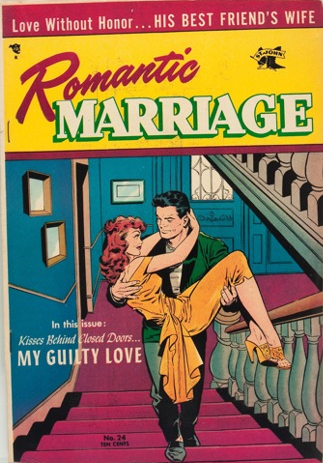 Romantic Marriage #24: Rare, last issue of the series. Click for value