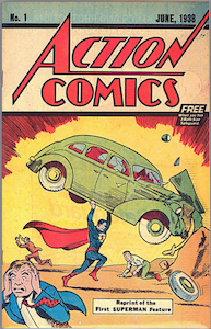 Action Comics #1 Safeguard Promotional Giveaway 1976