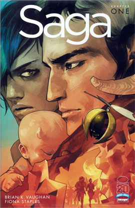 Saga #1 (2012): Retailer Incentive variant. Click for value