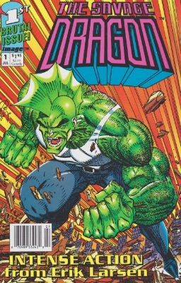Origin and First Appearance, Overlord, Savage Dragon #1, Image Comics, 1992. Click for value