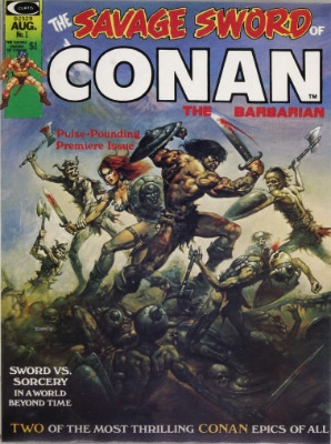 Savage Sword of Conan #1 (August 1974): Conan Gets the