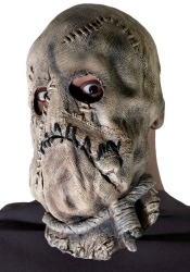 The Scarecrow: possibly Batman's scariest enemy. Scare your kids with this mask from Amazon!
