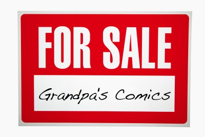 It's not easy to sell comic books. We can help.