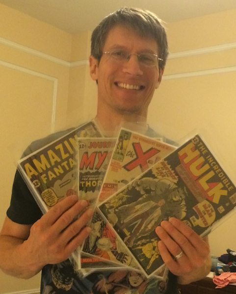 Sean Goodrich is one of the directors of Sell My Comic Books, located in our Maine HQ
