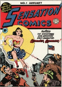 Sensation Comics #1 (1942) Rare comic book