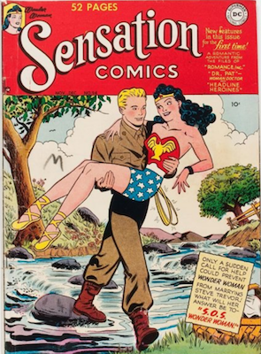 Sensation Comics #94: First All-Girl Issue. Click for value