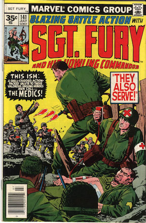 RARE! Sgt Fury #141 35 Cent Price Variant