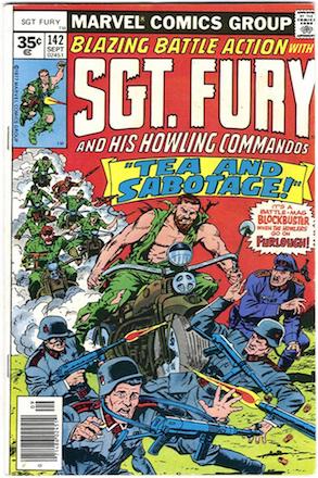 RARE! Sgt Fury #142 35c Marvel Price Variant