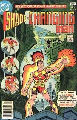 Shade, the Changing Man #1: First Appearance. Click for value