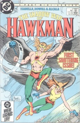 Origin and First Appearance, Fel Ander, Shadow War of Hawkman #1, DC Comics, 1985. Click for value