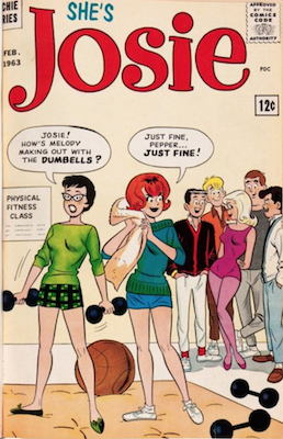She's Josie #1 (1963). Click for values