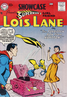 Showcase #10: 2nd Lois Lane issue in the series. Click for values
