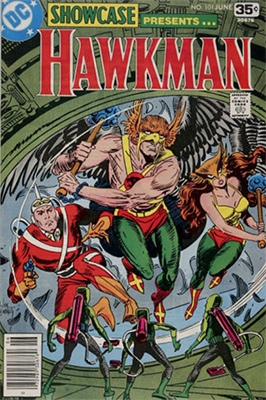 Showcase #101 (June 1978): Hawkman returns. Click for values