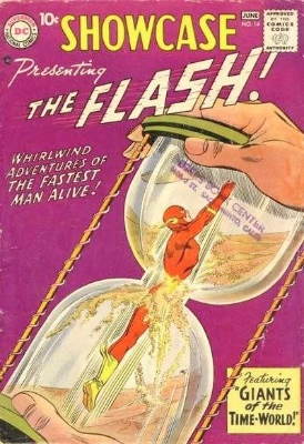 Showcase #14: fourth Appearance of the Silver Age Flash. Click for values