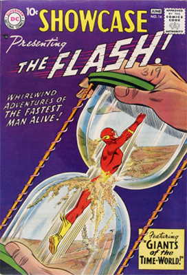 Showcase #14: Fourth appearance of Silver Age Flash. Click for values