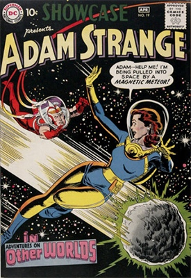 Showcase #19: Adventures on Other Worlds and Adam Strange. Click for values