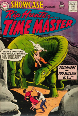 Showcase #20: Origin and first appearance of Rip Hunter, Time Master. Click for values