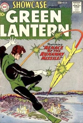 Showcase #22: First Appearance of Silver Age Green Lantern (Hal Jordan). Click for values