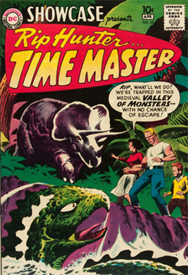 Showcase #25, Rip Hunter, Time Master appearance. Click for values