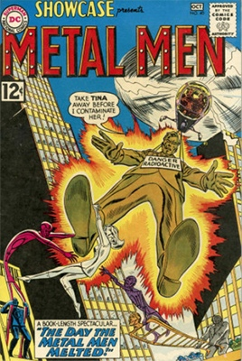 Showcase #40 (1962): Metal Men appearance. Click for values