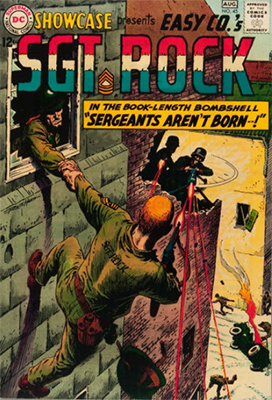 Showcase #45: Sgt. Rock appearance. Click for values