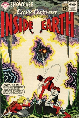 Showcase #52: Cave Carson appearance. Click for values