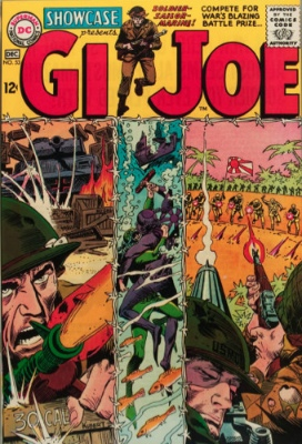 Showcase #53: GI Joe appearance. Click for values