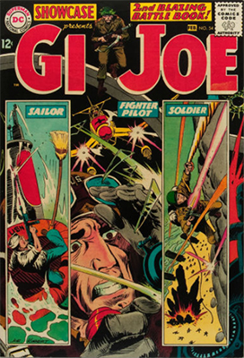 Showcase #54: GI Joe appearance. Click for values
