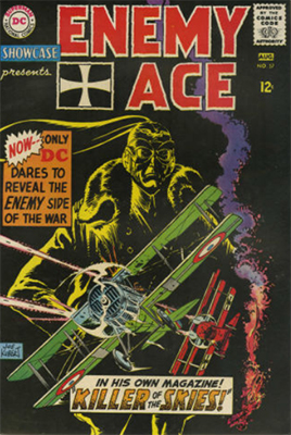 Showcase #57: Enemy Ace, 4th appearance. Click for values
