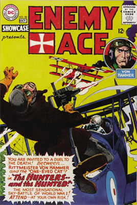 Showcase #58: Enemy Ace appearance. Click for values