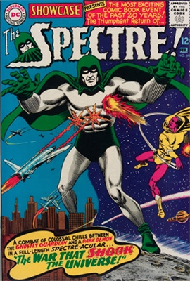 Showcase #60 (February 1966): The Spectre. Click for values